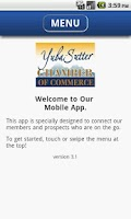 Screenshot of Yuba Sutter Chamber