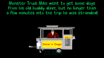 Screenshot of Delivery Driver