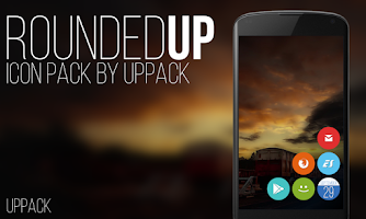 Screenshot of Rounded UP - icon pack