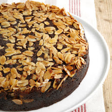 Chocolate-Almond Upside-Down Cake