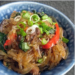 Rice Noodle, Beef and Vegetable Stir Fry