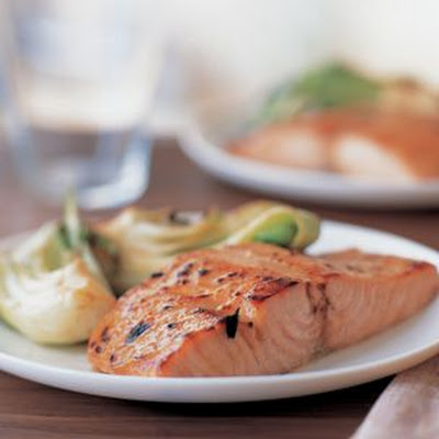Miso-Glazed Salmon with Bok Choy