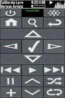 Screenshot of SoundBridge Remote