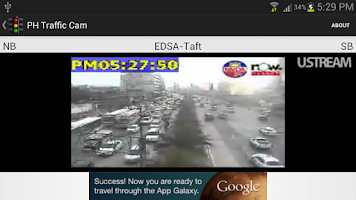 Screenshot of PH Traffic Cam