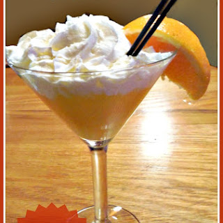 Orange Cream Martini