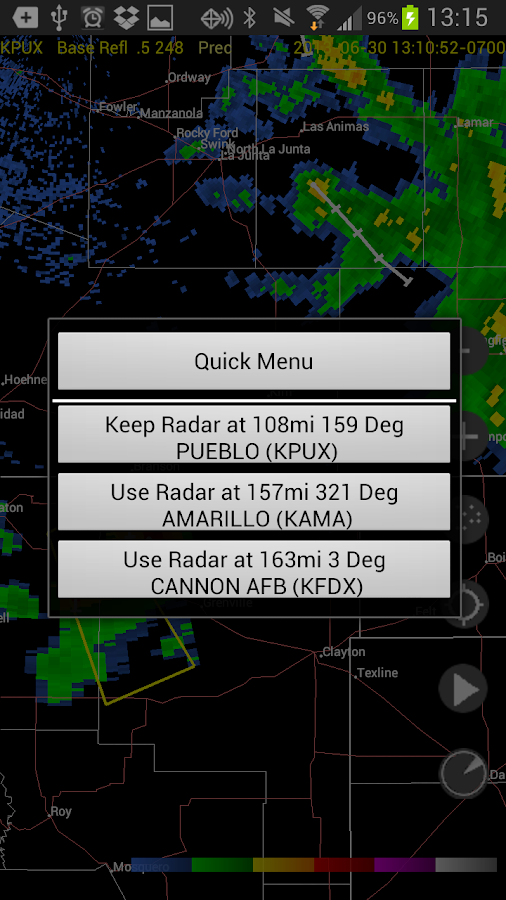 Radar Alive Pro Weather Radar Screenshot 5