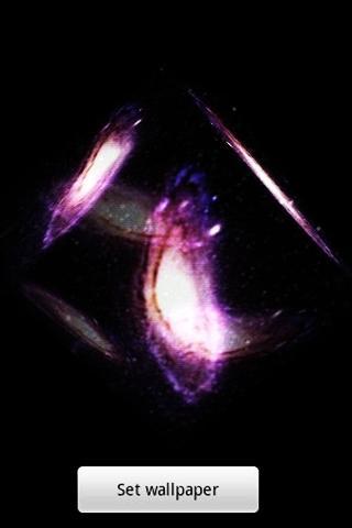 3D クールな星雲