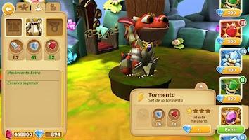 Screenshot of My Dragoni