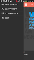 Screenshot of WGNS Radio