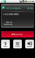 Screenshot of fonefamilyPro - VoIP Dialer