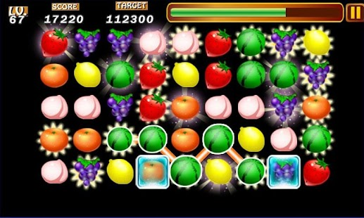 Fruits Line Deluxe - screenshot