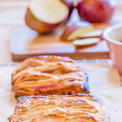 Apple Rhubarb Pies