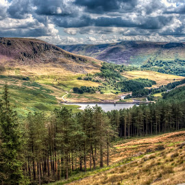 by Eddie Leach - Landscapes Mountains & Hills
