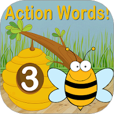 Action Words!™ 3  Flashcards