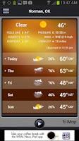 Screenshot of WRAL Weather Alert
