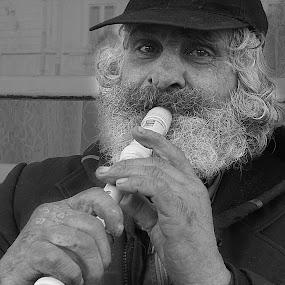 by Bica Razvan - People Portraits of Men ( flute, begger, romanian, singer, old man, Travel, People, Lifestyle, Culture,  )