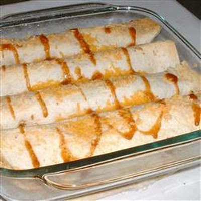 Three Pan Potato Enchiladas