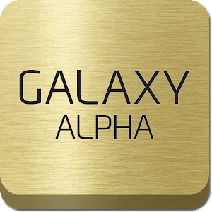 GALAXY ALPHA Experience Icon
