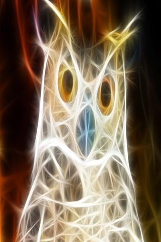 三維貓頭鷹