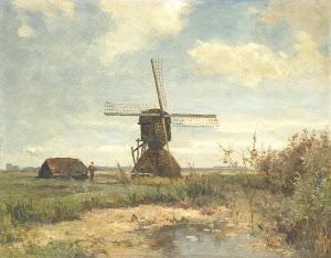 RIJKS: Paul Joseph Constantin Gabriël: painting 1903