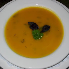 Butternut Pumpkin, Rosemary and Ginger Soup