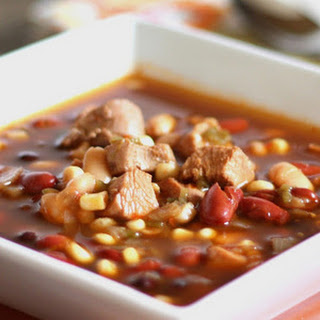 Spicy Southwest Turkey and Four Bean Soup