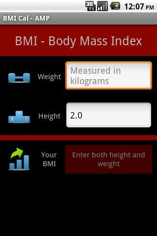 BMI Cal - AMP
