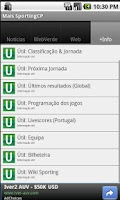 Screenshot of Mais Sporting CP