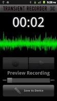 Screenshot of Transient Recorder