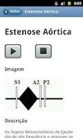 Screenshot of Ausculta Cardíaca