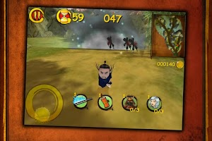 Screenshot of Mr. Slash - Jewel Defense Free