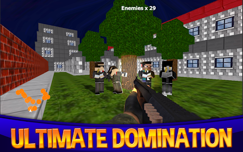 Cops vs Hitman Block Survival - screenshot