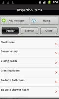Screenshot of TIM Property Inventory