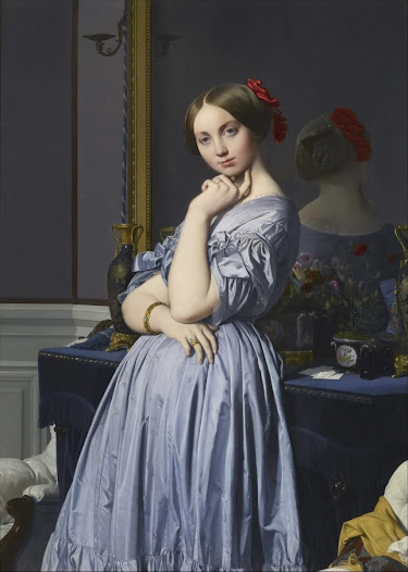 Ingres Jean-Auguste-Dominique, La contessa d'Haussonville