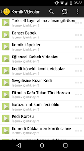 Komik Videolar - screenshot