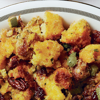 Cornbread, Chorizo, Cherry, and Pecan Stuffing