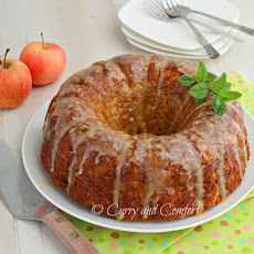 Apple Cake with Caramel Glaze plus bonus Muffins (Apple Week Day 3)