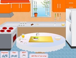 Screenshot of Cake flavored with chocolate