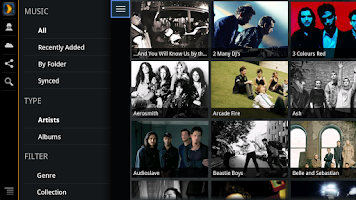Screenshot of Plex for Google TV