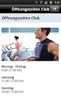 Screenshot of myFitApp