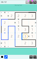 Screenshot of Slitherlink Game Free