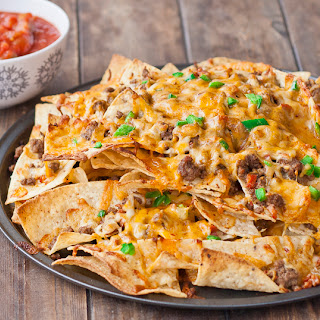 Beef and Chorizo Nachos