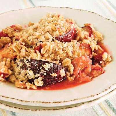 Plum Crumble
