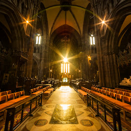 St Marys Sunlight  by Don Alexander Lumsden - Buildings & Architecture Places of Worship