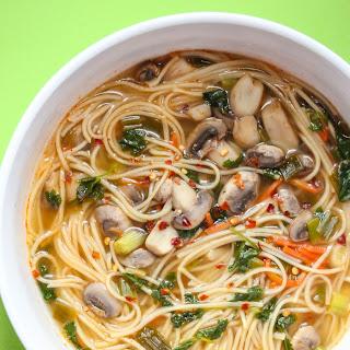 Thai Noodle Soup Mushrooms Recipes