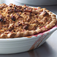 Cranberry-Apple Crumble Pie