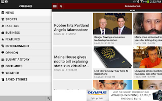 Screenshot of The Portland Press Herald