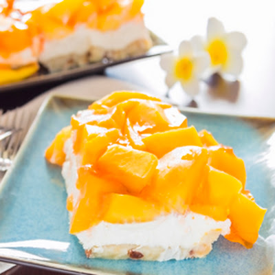 Fresh Mango Cheesecake