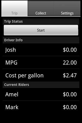 Carpool Calculator Free