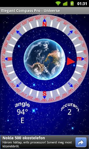 Elegant Compass Pro - Universe